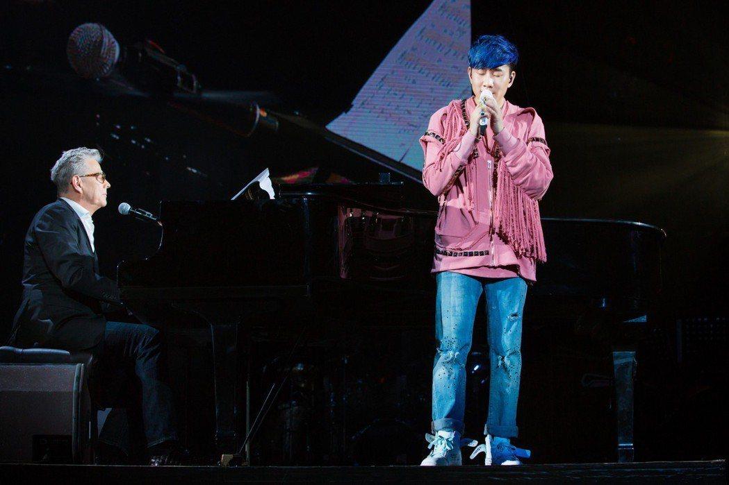 林俊傑在北京舉行演唱會。圖/JFJ Production提供