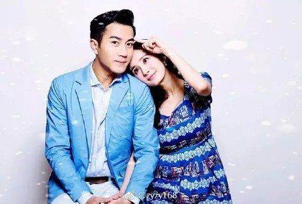 劉愷威與妻子楊冪。圖/摘自微博