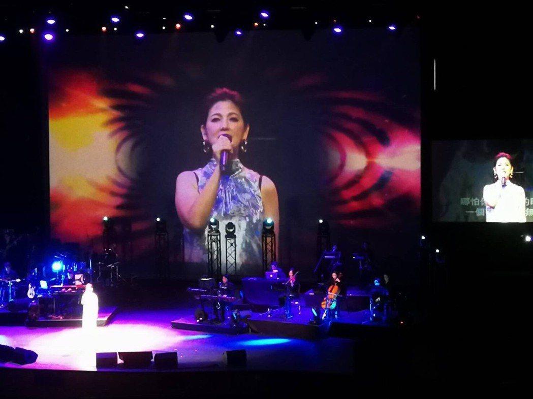 陳明真暌違10多年到新加坡開唱。圖/讀者提供