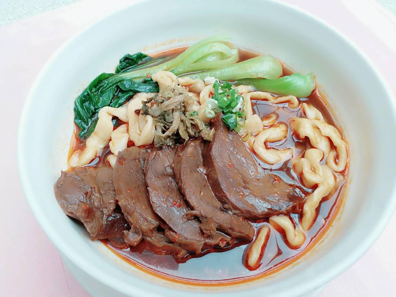 力麗哲園商旅-台北館「好稻埕牛肉麵」。圖/力麗觀光提供