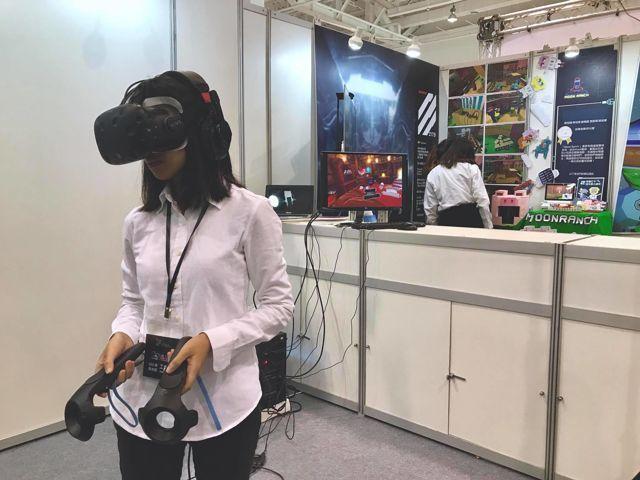 「克拉斯的境域」獲2018放視大賞「遊戲類-VR遊戲創作組」銅獎。 校方/提供