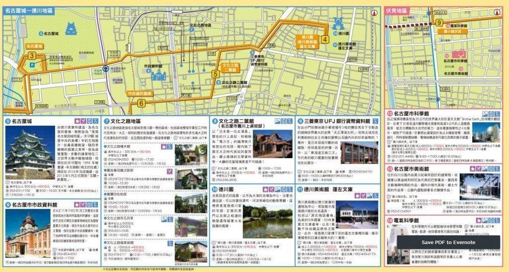 觀光巴士景點介紹圖 nagoya-info.jp