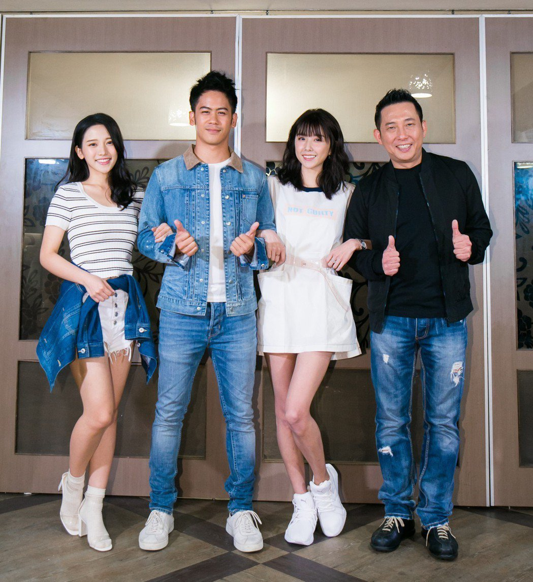 蔡瑞雪(左起)、李淳、卲雨薇、屈中恆。圖/威視提供