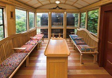 SL人吉的車廂風景。 圖/摘自JR九州官網