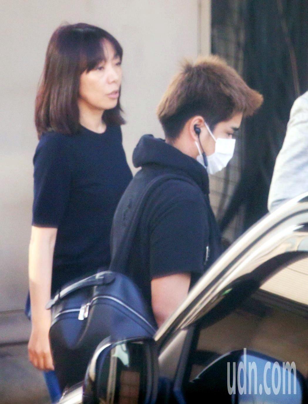 安室溫大也跟著媽媽回日本。記者陳嘉寧/攝影