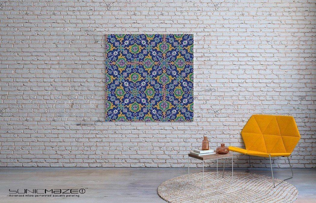 靜音生活美學:一幅裝飾畫卻兼具吸音功能,「藝塑吸音板」突破傳統,打造靜音美學空間...