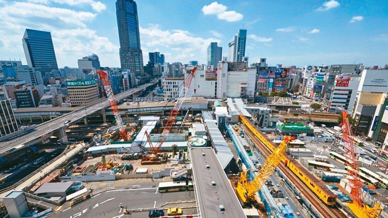 澀谷車站周邊都市更新。 本葉國際資產/提供