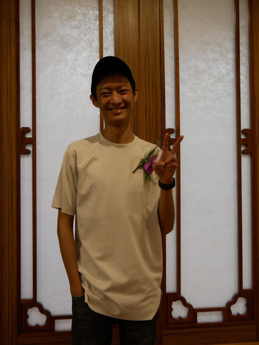 去年受贈骨髓成功的朱頤也在今年與其他癌友成立「血拾人生」。記者林良齊/攝影