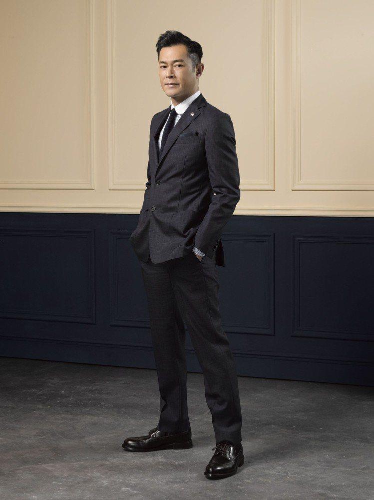 古天樂加入Brooks Brothers家族,成為中國及香港地區形象大使。圖/B...
