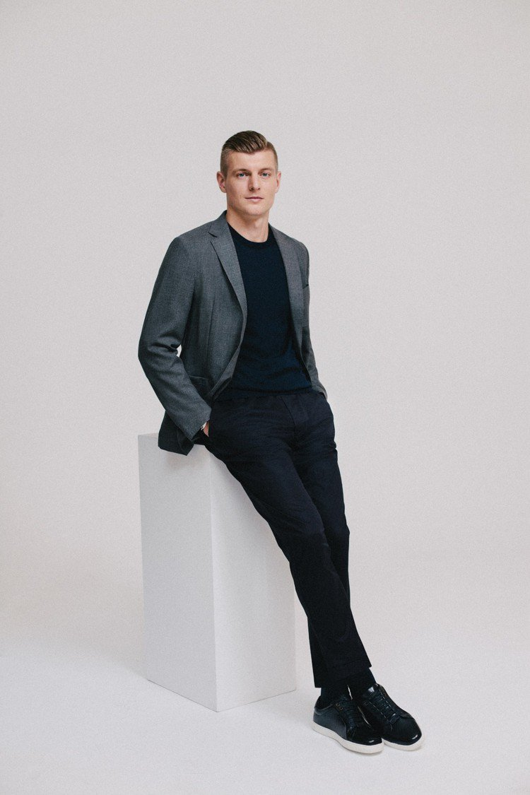 HUGO BOSS宣佈德國球星Toni Kroos成為品牌新任代言人。圖/HUG...