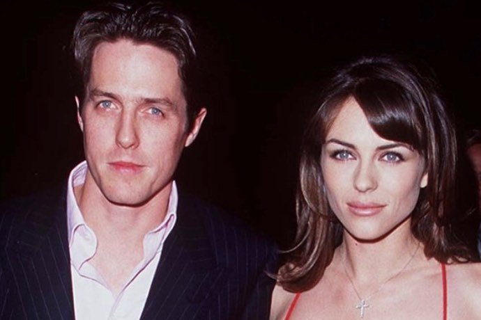 休葛蘭與伊莉莎白赫莉曾經交往多年,以「明星情侶」姿態現身各大場合。圖/摘自Ins