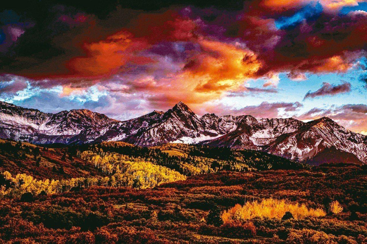 「美國聖胡安山脈」未經破壞的自然風光。 圖/Booking.com提供