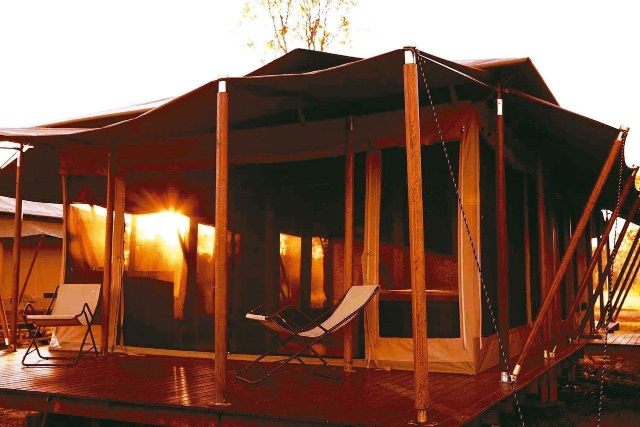 澳洲瑪莉河濕地的「野德漫原生態度假村。 圖/Booking.com提供