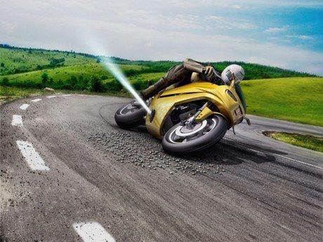 (防滑片)防雷殘神器?Bosch開發出機車氣流車身導正系統