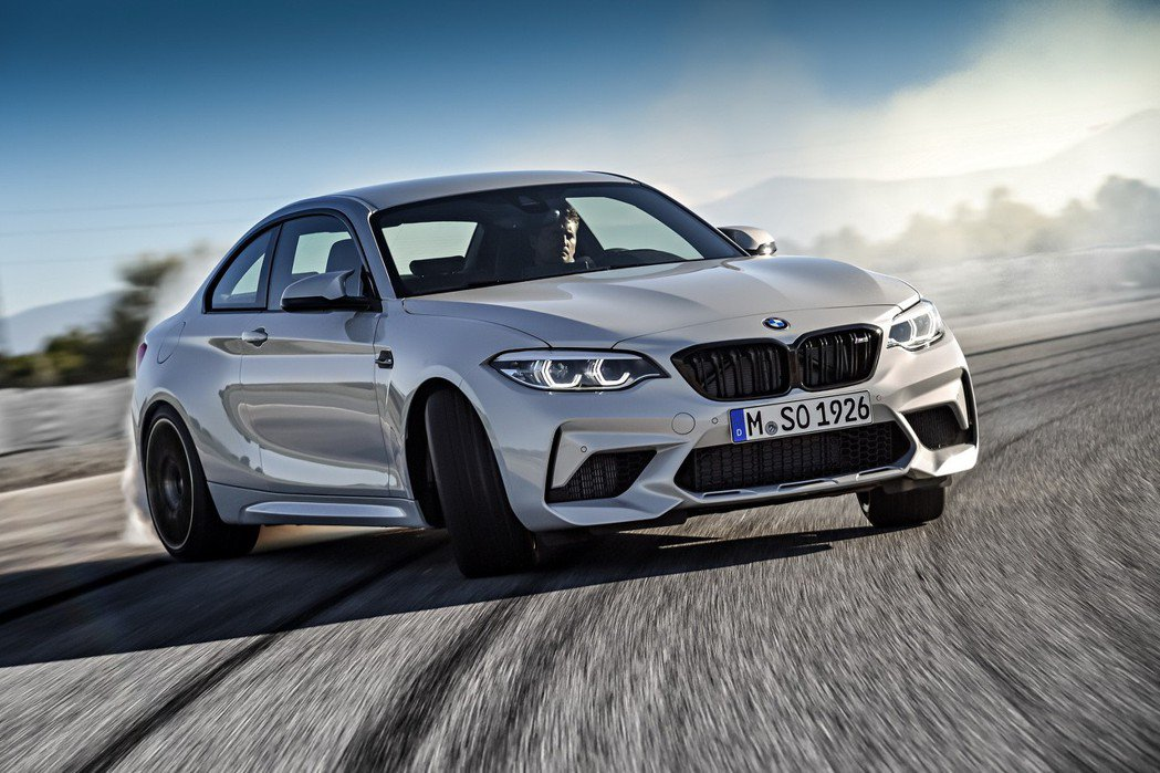 全新BMW M2 Competition。 圖/汎德提供