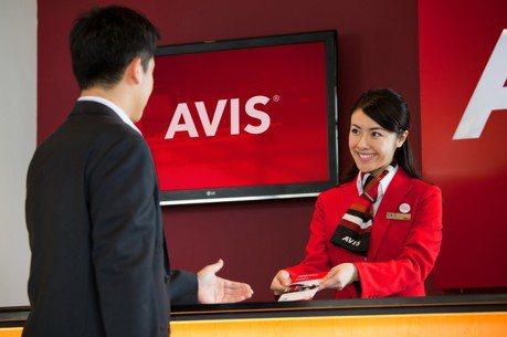 AVIS安維斯租車首創租車商務中心 尊榮管家式接送服務