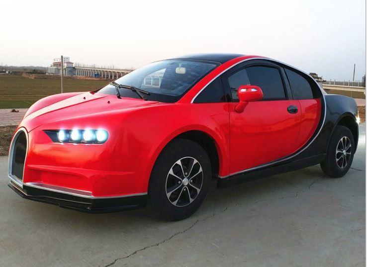 Bugatti Chiron Mini EV。 摘自山東豐德