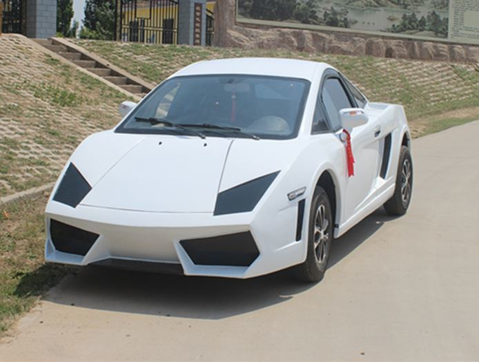 Lamborghini Murciélago Mini EV。 摘自山東豐德