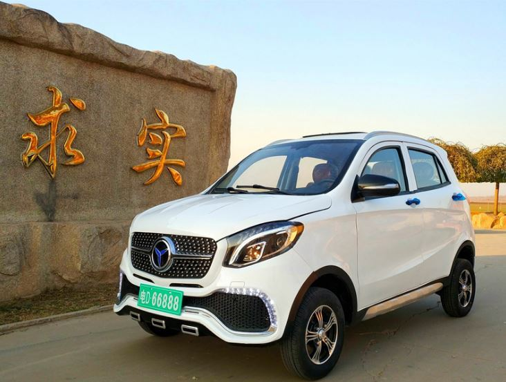 Mercedes-Benz GLE Mini EV。 摘自山東豐德