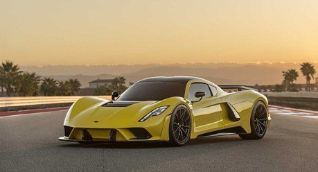 Hennessey Venom F5將挑戰482 km/h極速
