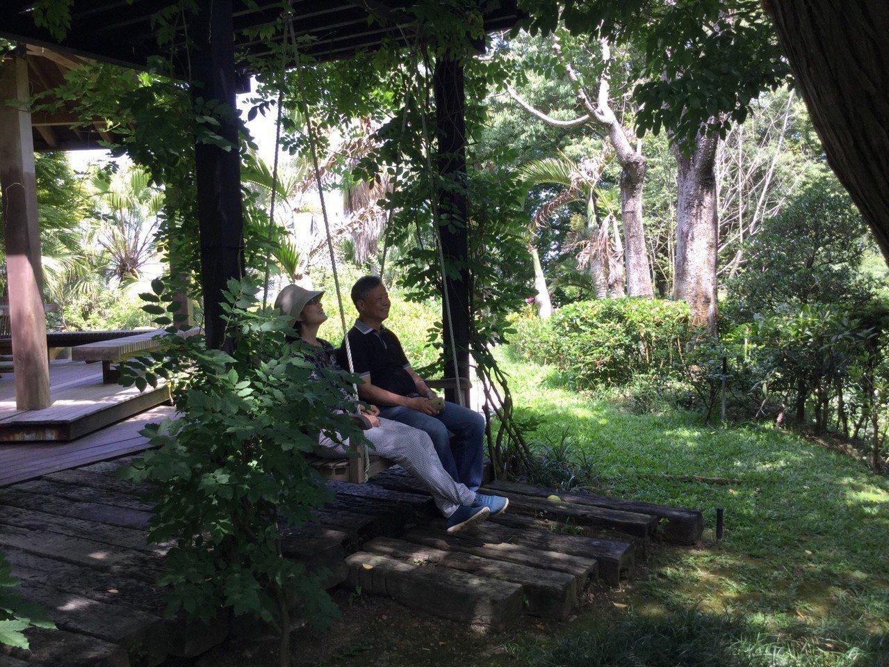 用心打造的綠色空間,讓人充分放鬆。有行旅提供