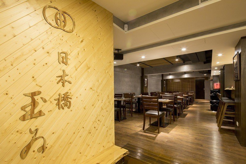 日本橋玉井海外第一家店設置在台北。