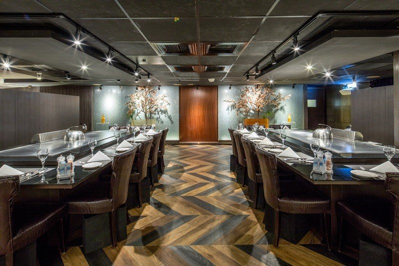 整體用餐空間雅緻尊榮品味獨特。