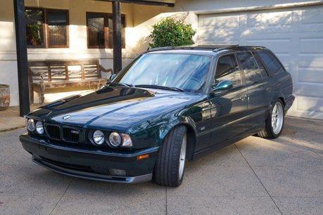 BMW E34 M5稀有釋出 亮點不在動力而是...
