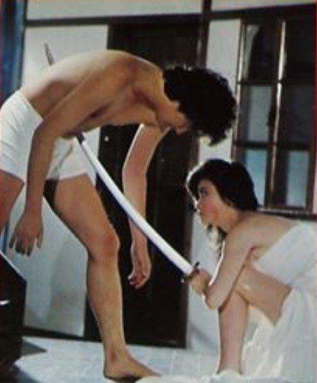陸小芬在「瘋狂女煞星」中舉起武士刀手刃摧花賊。toolkit.culture.t...