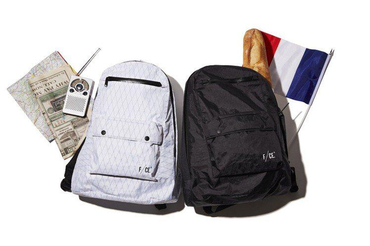 F/CE與DYCTEAM合作X-PAC系列後背包,約7,500元。圖/台灣十創提...