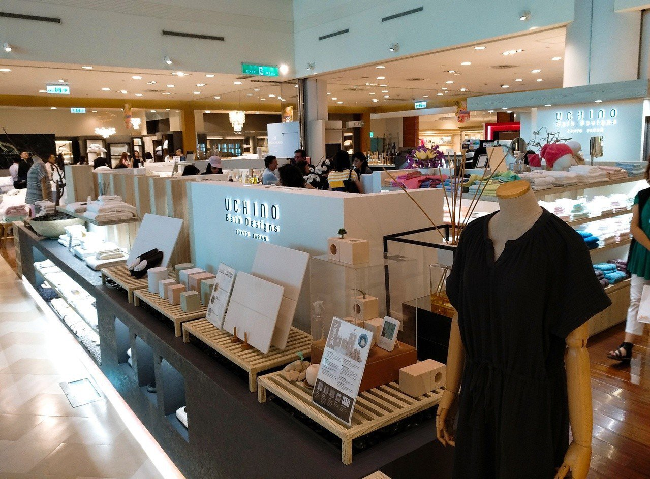 UCHINO TAIWAN重新將SOGO復興館專櫃重新打造成UCHINO復興旗艦...
