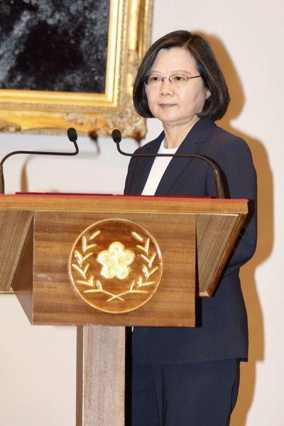 北京認為,蔡英文總統幫美國打「台灣牌」對付大陸,讓他們不滿。記者林伯東/攝影