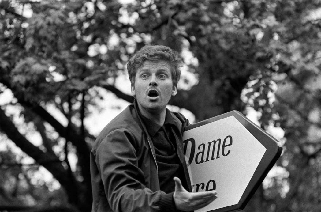 68學運的關鍵人物——學生領袖丹尼爾.孔-本迪(Daniel Cohn-Bend...