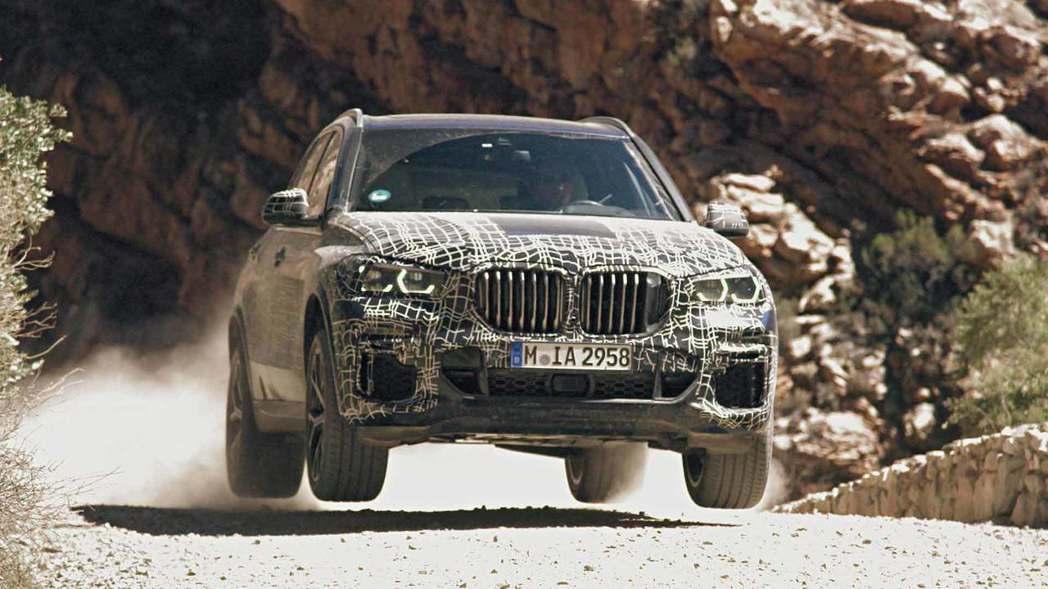 新世代BMW X5將被賦予更多的越野能力。 摘自BMW