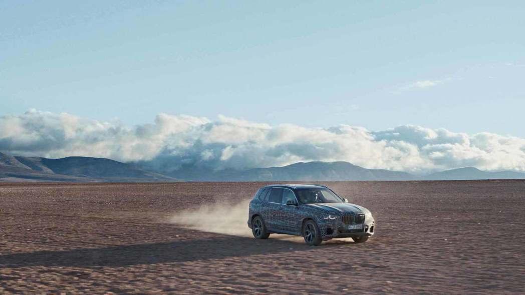 全新BMW X5預計會在2018下半年正式報到。 摘自BMW