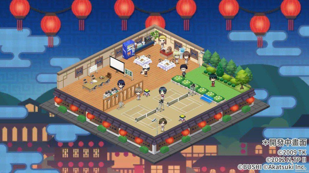 打造充滿台灣九份風格的球員休息室