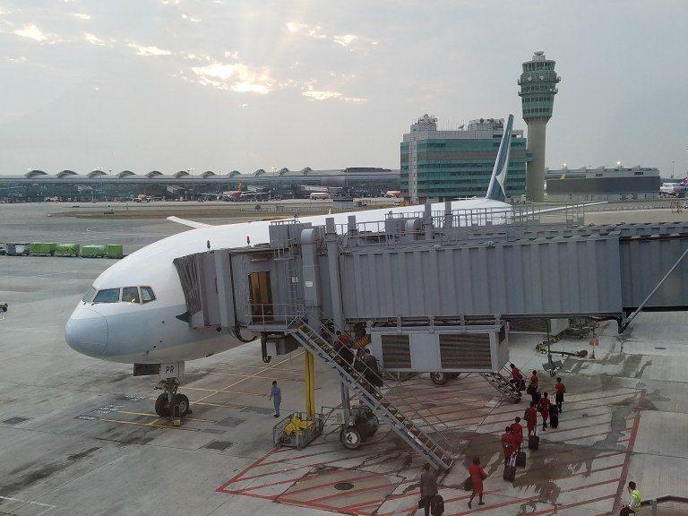 這次飛行的機型-Boeing 777-300ER,算是國泰航空目前長程航線的主力...