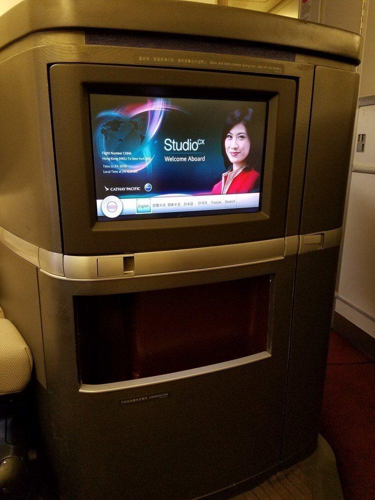 螢幕,其實與一些航空公司的頭等艙來比,真的有點小 圖文來自於:TripPlus