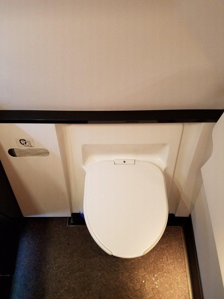 馬桶,整體廁所的空間還算可接受,不會太狹小 圖文來自於:TripPlus