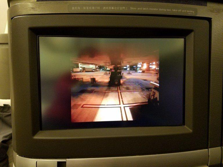 還有機外攝影機,可以看到外面的景色(解析度有點差就是了…) 圖文來自於:Trip...