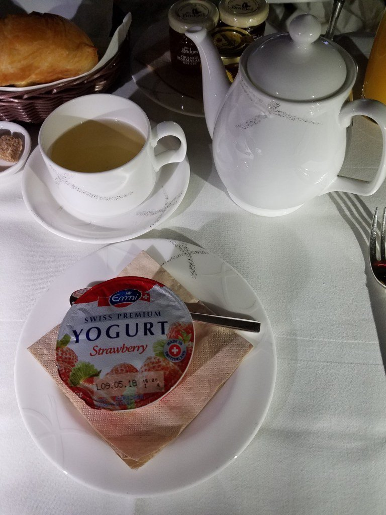 接著有熱茶與優格 圖文來自於:TripPlus