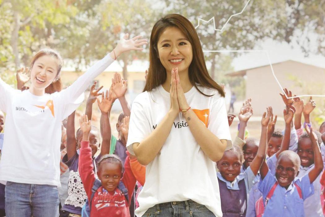 資助兒童計畫代言人林心如今天舉行尚比亞關懷行記者會,分享尚比亞之行的心得並呼籲大...