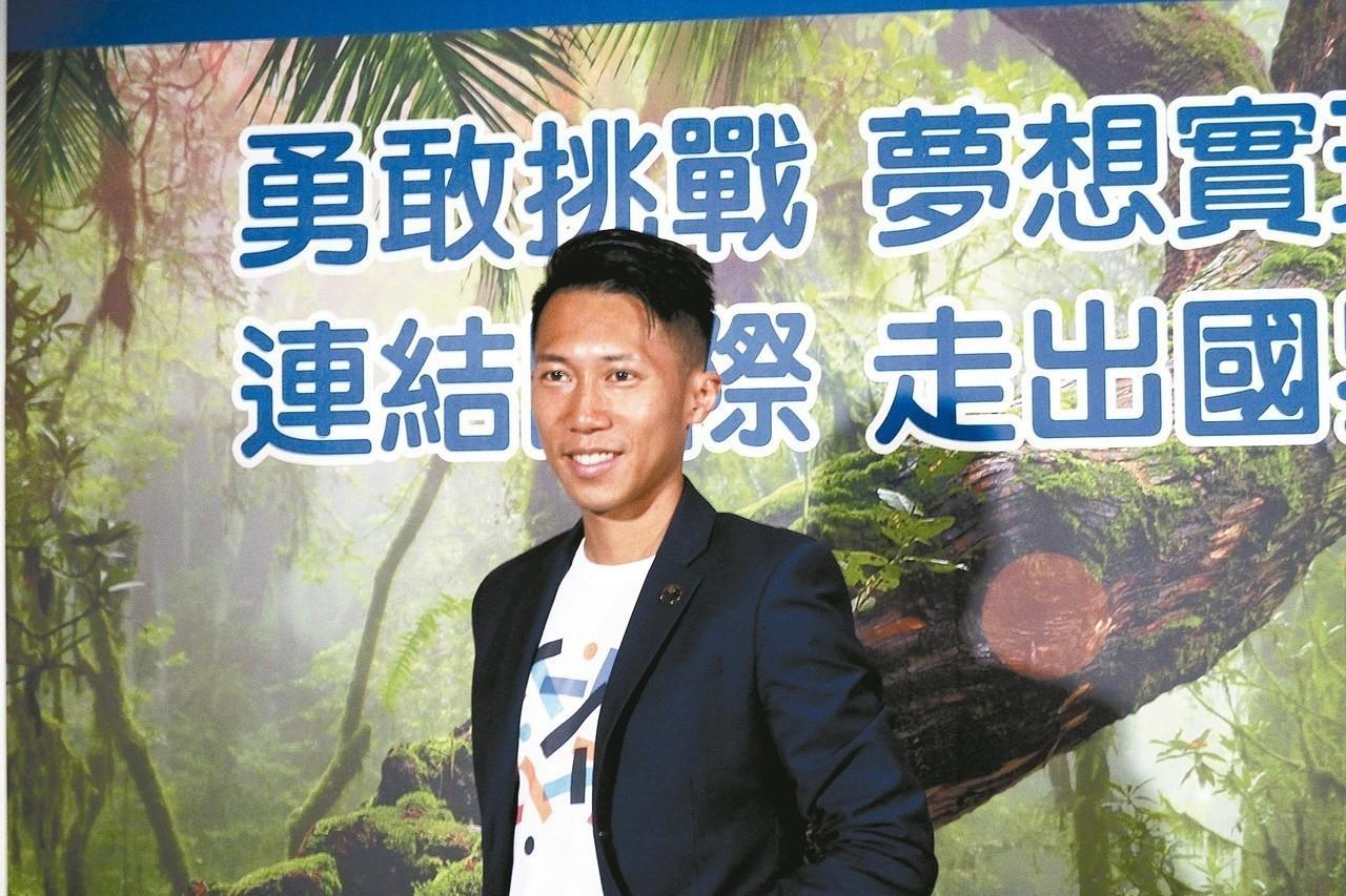 台灣超馬好手陳彥博。 聯合報系資料照
