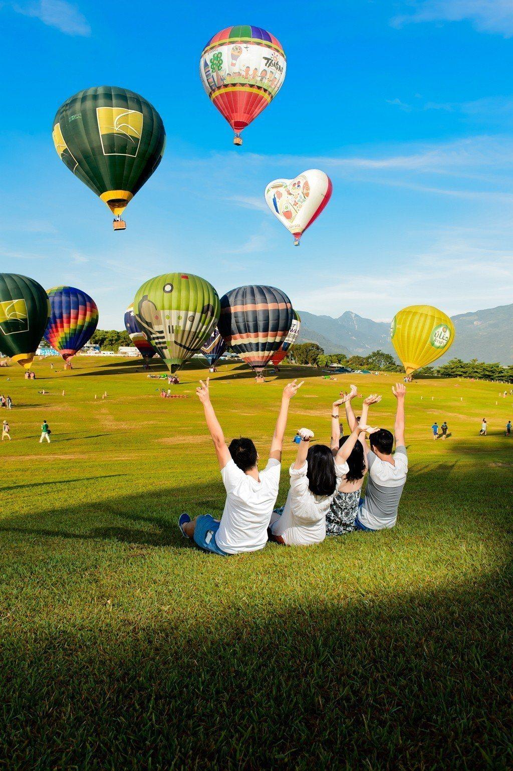 6月30起台東熱氣球嘉年華繪開跑 圖/知本老爺酒店 提供