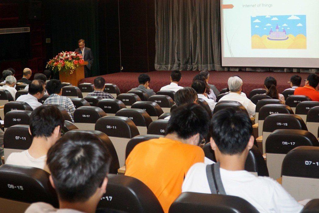 25日大葉大學舉辦AI高峰論壇,邀集國內外學者專家演講 大葉大學/提供。