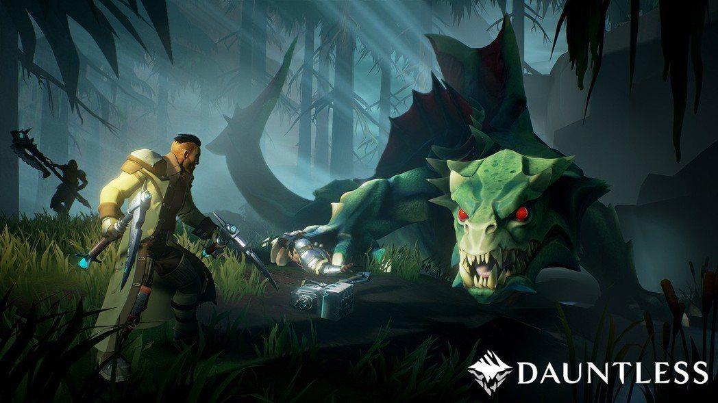 圖/截自《Dauntless》官網。