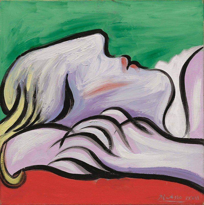 畢卡索《休憩》,繪製於1932年 © 2018 Estate of Pablo ...