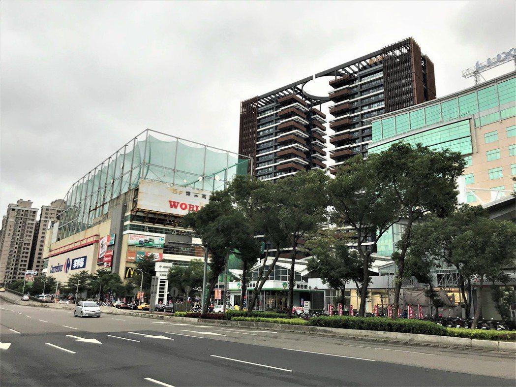 裕隆城一帶。記者游智文/攝影