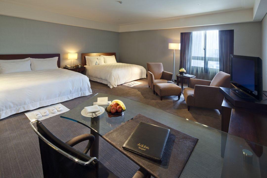 台南大億麗緻酒店住房專案,平均每人每晚986元起。圖/台南大億麗緻酒店提供