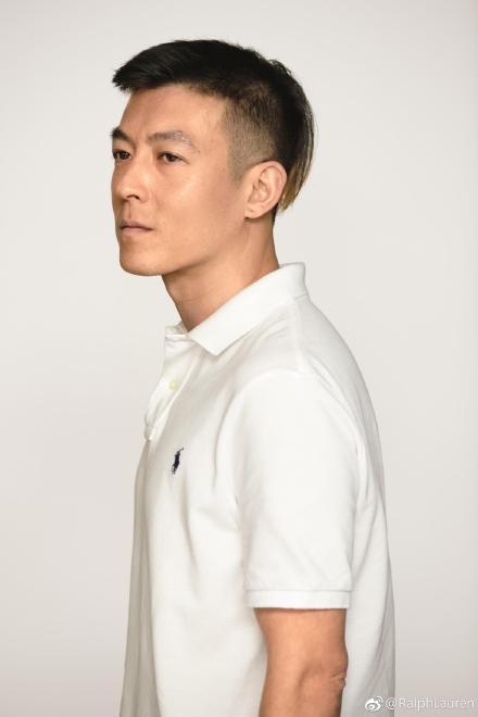 陳冠希演繹Polo Ralph Lauren的經典polo衫。圖/Ralph L...